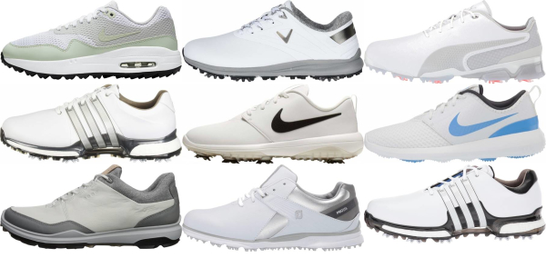 buy white golf shoes for men and women