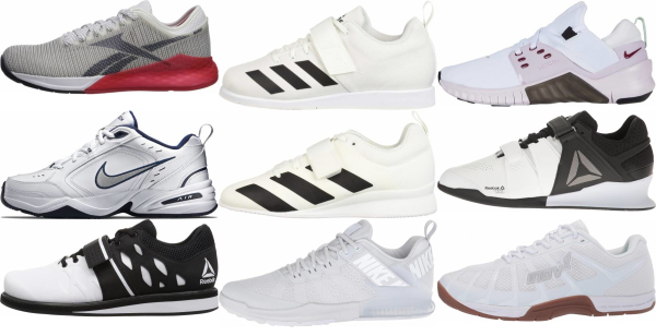 buy white gym shoes for men and women