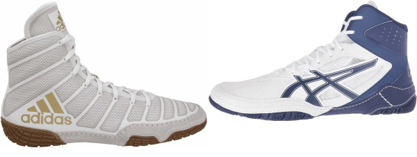 buy white hybrid sole wrestling shoes for men and women