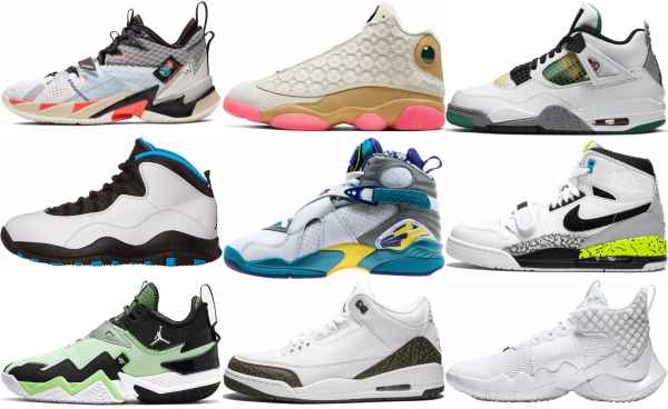 buy white jordan basketball shoes for men and women