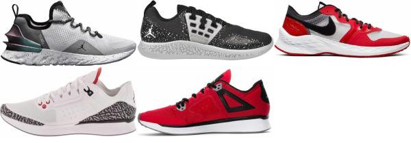 buy white jordan running shoes for men and women