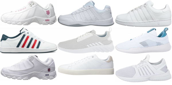 buy white k-swiss sneakers for men and women
