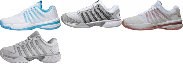 buy white k-swiss tennis shoes for men and women
