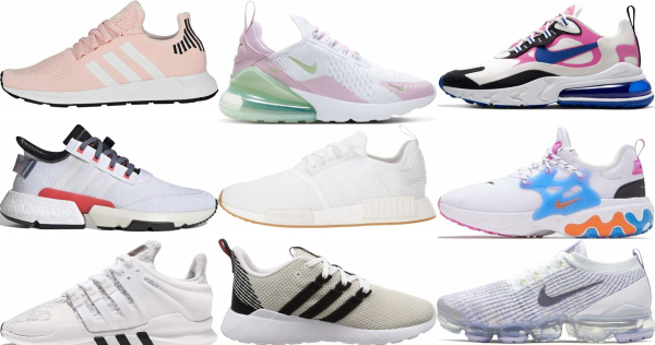 buy white knit sneakers for men and women