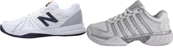 buy white leather upper tennis shoes for men and women