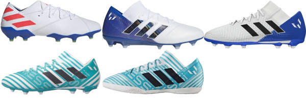 buy white lionel messi  soccer cleats for men and women