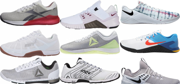 White Low Drop Training Shoes