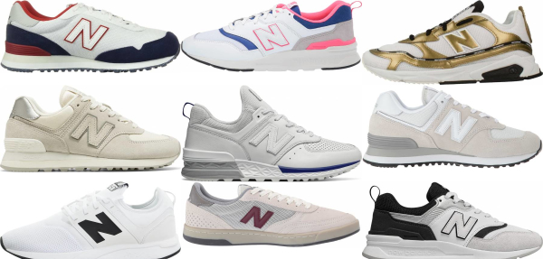 buy white new balance sneakers for men and women
