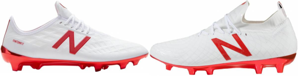 buy white new balance soccer cleats for men and women