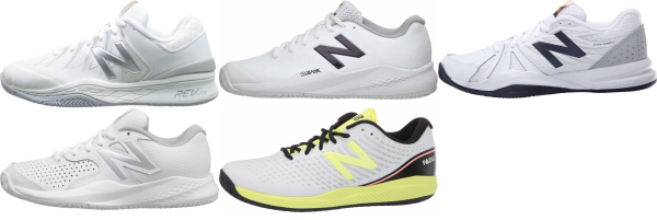 buy white new balance tennis shoes for men and women