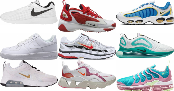 buy white nike sneakers for men and women