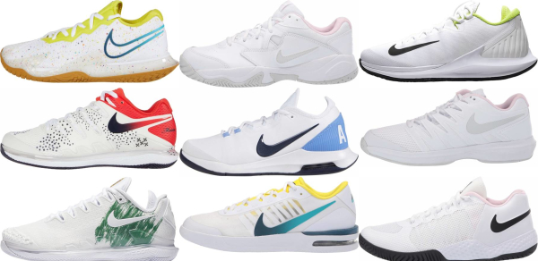 buy white nike tennis shoes for men and women