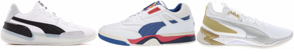 buy white puma basketball shoes for men and women