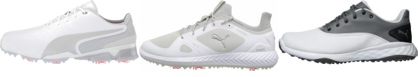 buy white puma golf shoes for men and women