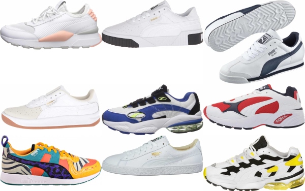buy white puma sneakers for men and women