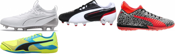 buy white puma soccer cleats for men and women