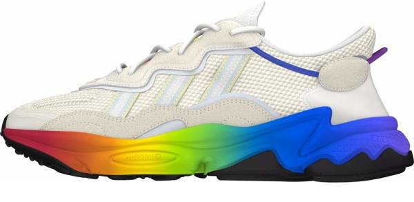 buy white rainbow sneakers for men and women
