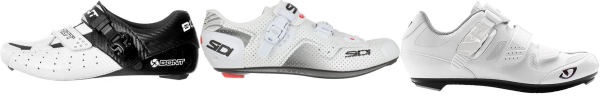 buy white ratchet cycling shoes for men and women