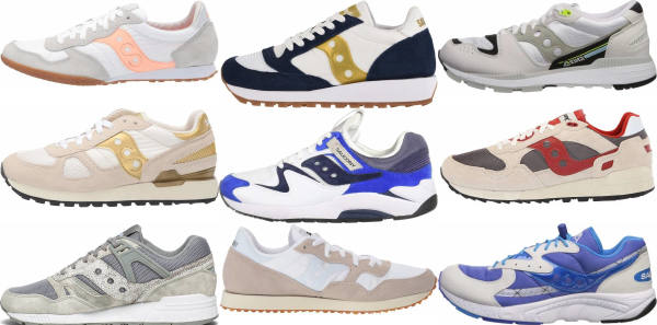 buy white saucony sneakers for men and women