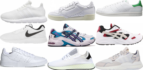 buy white sneakers for men and women