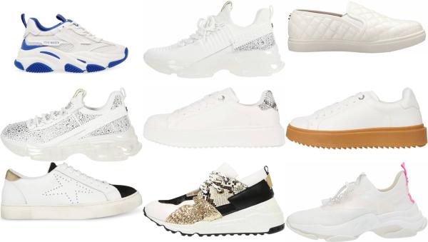 buy white steve madden sneakers for men and women