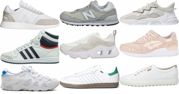 buy white suede sneakers for men and women