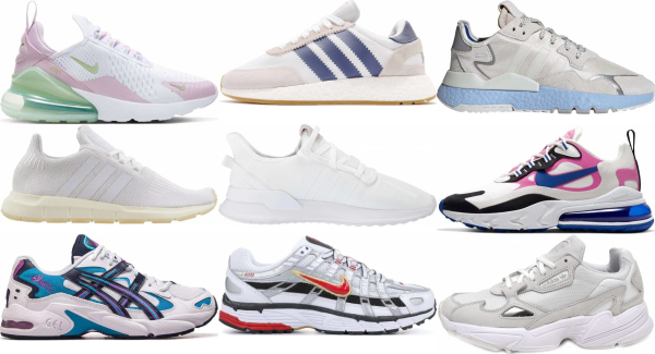 buy white summer sneakers for men and women
