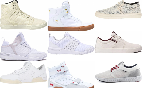 buy white supra sneakers for men and women