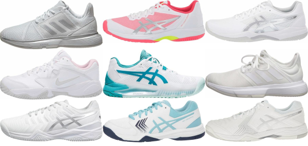 buy white synthetic upper tennis shoes for men and women
