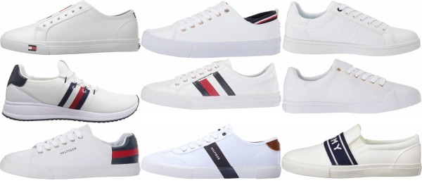 buy white tommy hilfiger sneakers for men and women