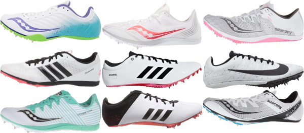 buy white track & field shoes for men and women