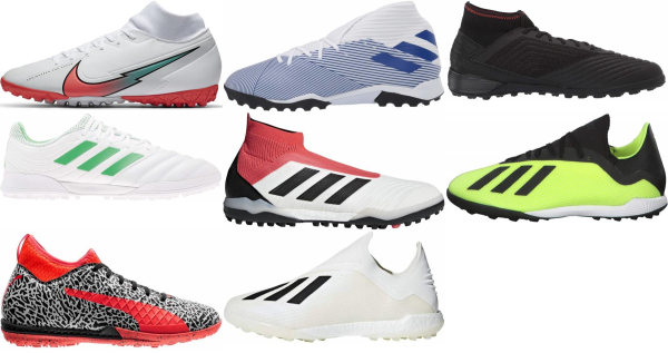 buy white turf soccer cleats for men and women