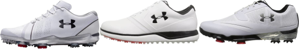 buy white under armour golf shoes for men and women