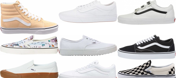 buy white vans sneakers for men and women