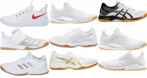 buy white volleyball shoes for men and women