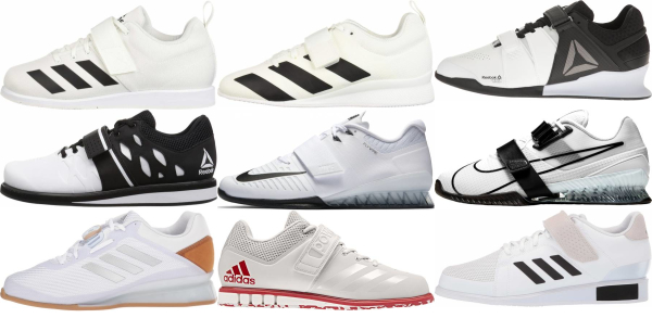 buy white weightlifting shoes for men and women