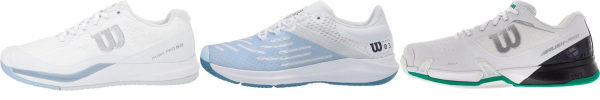 buy white wilson tennis shoes for men and women