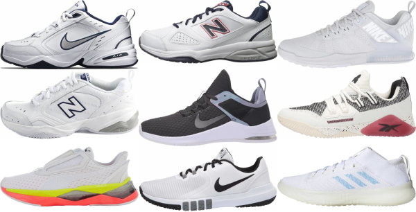 buy white workout shoes for men and women