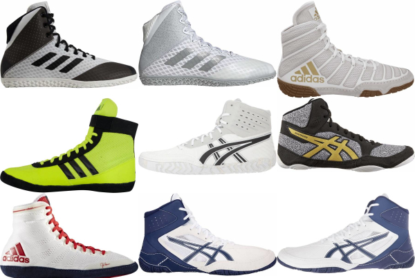 buy white wrestling shoes for men and women