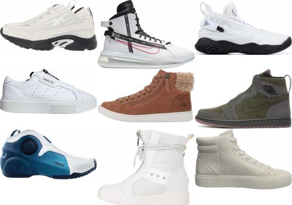 buy white zipper sneakers for men and women