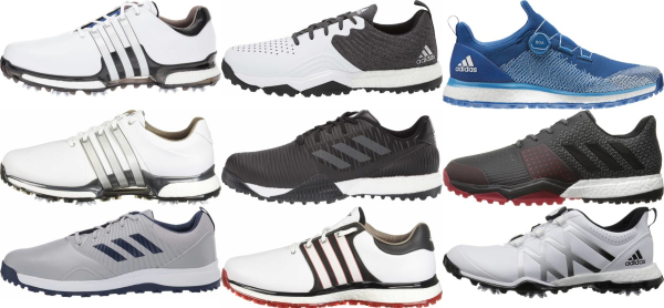 buy wide adidas golf shoes for men and women