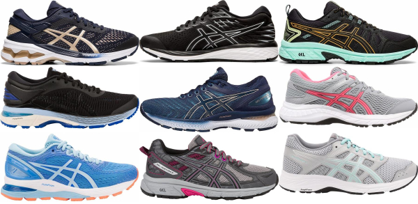 buy wide asics running shoes for men and women