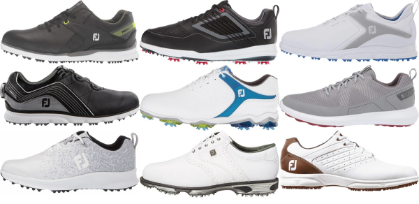 buy wide footjoy golf shoes for men and women