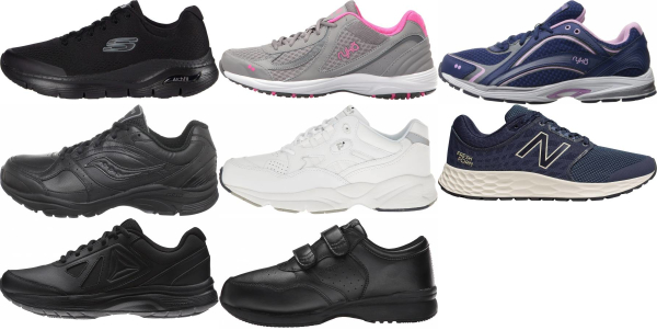 buy wide for nurses walking shoes for men and women