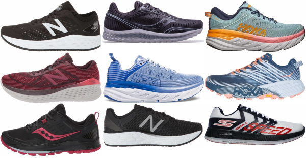 Wide Forefoot Strike Running Shoes (1
