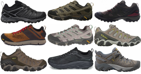 buy wide lightweight hiking shoes for men and women