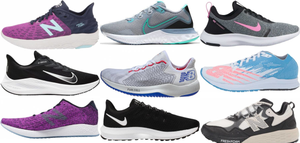 buy wide lightweight running shoes for men and women