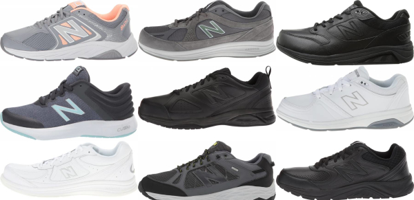 buy wide new balance walking shoes for men and women