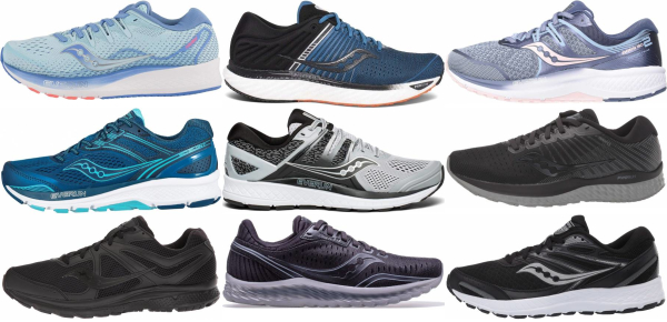 buy wide saucony running shoes for men and women