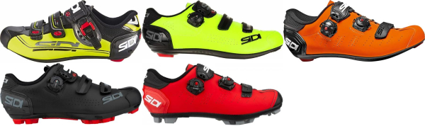 buy wide sidi cycling shoes for men and women